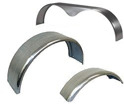 Galvanized & Steel Trailer Fenders