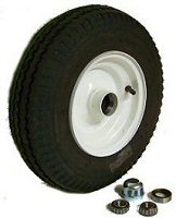 8 inch Fixed Hub Integral Tire & Rim