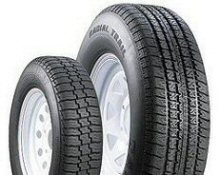 "Radial Trailer Tire/Rim - 12"" to 16"" LOADSTAR & TOWMAX"