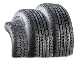 Radial Trailer Tires w/o Rim