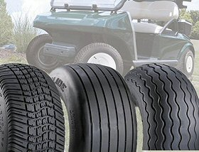 Golf Cart & Utility Vehicle Tires