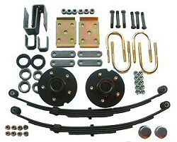 Leaf Spring & Hub Suspension Kits