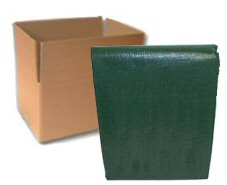 Forest Shade Green Tarps - CASE LOTS