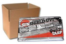 Sunshield Silver / Black - CASE LOT