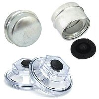 Dust Caps & Oil Caps for Trailer Hubs & Drums