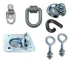 Tie-Down Rings, Hooks & Eye Bolts
