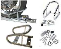 Motorcycle Wheel Chock Systems