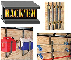 RACK'EM Trailer Organizing Rack Systems