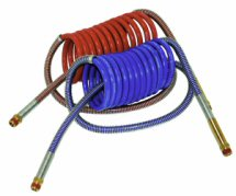 Coiled Air Hose Assemblies