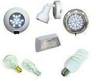 RV / Camper Interior Lights & 12v Bulbs