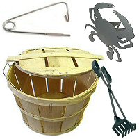 Crab Tongs, Baskets & Accessories