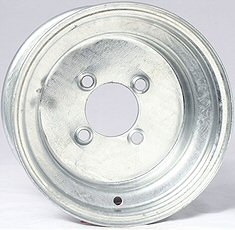 Galvanized Trailer Wheels  8 & 12 inch diameter