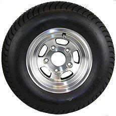 10 and 12 inch Trailer Tire & Aluminum Rim