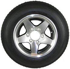 16 inch Radial Trailer Tire & Aluminum Rim