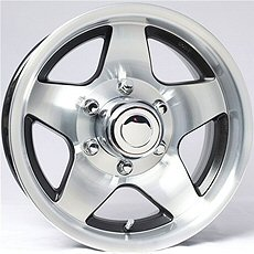 Mag Aluminum Trailer Wheels