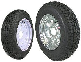 H188 & LOADSTAR 12 and 13 inch Trailer Tire & Rim