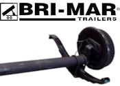 BRI-MAR Trailer Replacement Axles