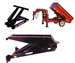 Dump Trailer Hoists & Tilt Deck Kits