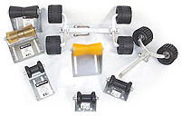 Boat Trailer Roller Assemblies