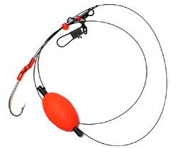Surf fishing rigs lures tackle at for Blue fish rig