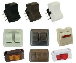RV Switches & Indicator Lights