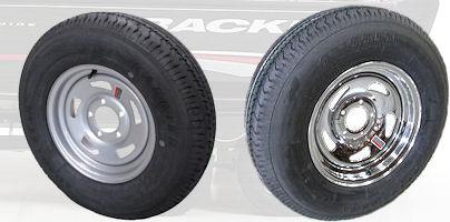 Tracker Trailer Replacement Tire & Rim