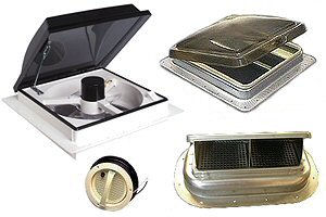 RV Roof Mount Vents & Fans