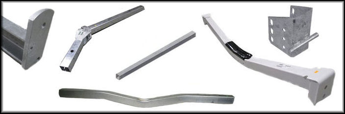 Trailer Tongues, Crossbars & Brackets