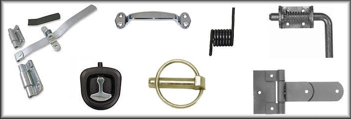 Horse Trailer Door & Ramp Hardware