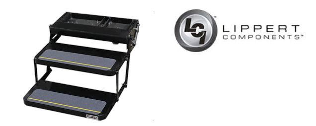 Lippert double motorized rv entry step 285309 ebay for Motorized rv entry steps