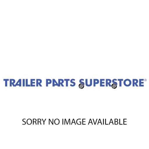 Dexstar 14 5 in 8 lug white painted trailer wheel rim