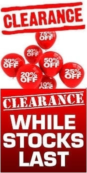 Click here for Clearance Items