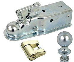 Boat Trailer Couplers, Locks & Safety Chains