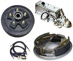 Boat Trailer Drum Brakes & Brake Parts