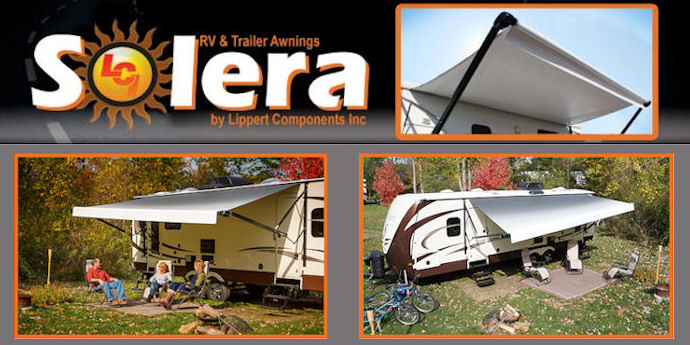 Solera 21 Ft Wide Standard Size Rv Awning