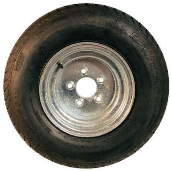 10 thru 14 inch Radial Trailer Tires with Steel Rim