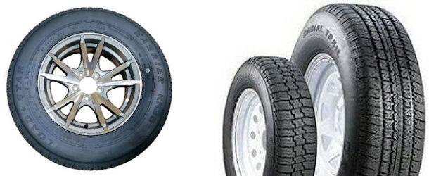 10 thru 16 inch Radial Tire and Rim Combos