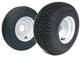 8 and 10 inch Bias Ply Tire and Rim Combos