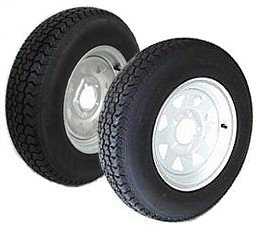 14 And 15 Inch Bias Ply Trailer Tire And Rim Combos