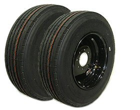 Heavy-Duty LT Truck-Trailer Tire & Rim