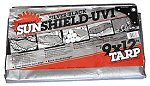 Sunshield Silver / Black Poly Tarps