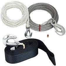 Trailer Winch Rope, Cables & Straps