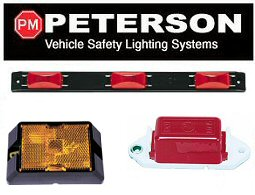 PETERSON Clearance / Marker Lights  sc 1 st  Trailer Parts Superstore & PETERSON Clearance / Marker Lights at Trailer Parts Superstore