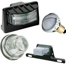 Reverse, License & Utility Lights