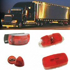 Red Marker Truck & Trailer Lights