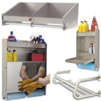 Aluminum Racks, Shelves and Cabinets