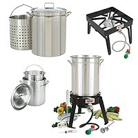Crab Steamers, Stoves & Cooking Accessories