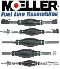 Moeller outboard motor fuel line kits at for Outboard motor gas tank hose