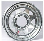 Galvanized Steel Trailer Wheels