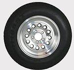 12 thru 15 inch Radial Trailer Tire - Aluminum Rim